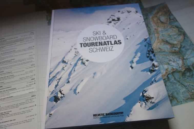 Helvetic Backcountry Ski Snowboard Tourenatlas Schweiz 16