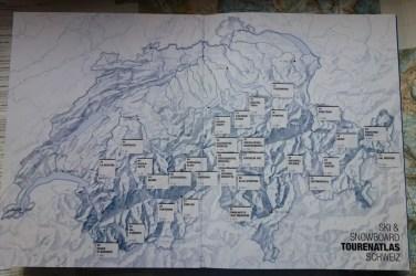 Helvetic Backcountry Ski Snowboard Tourenatlas Schweiz 17
