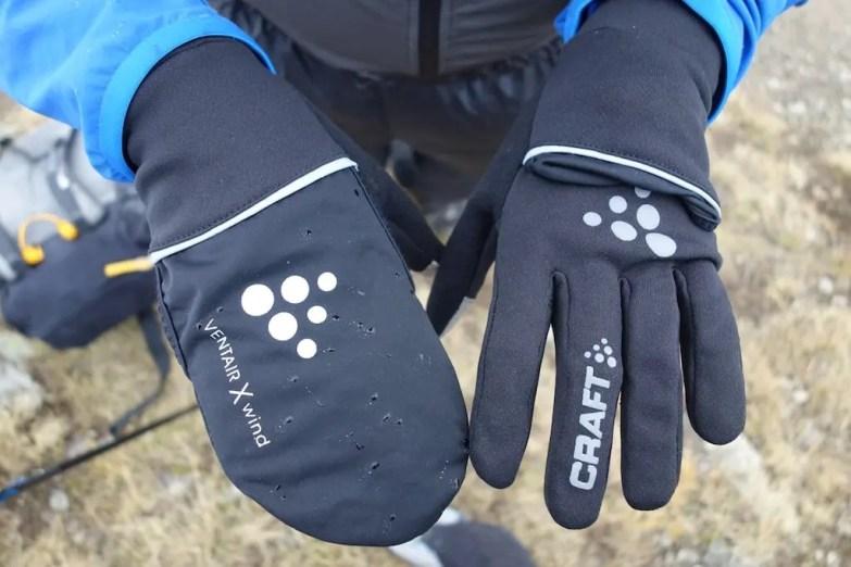 craft hybrid weather gloves 09