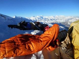 der Iceline von Mountain Equipment auf 7050 m