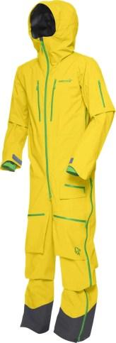 Norrøna lofoten GTX Pro One Piece Suit mellow yellow
