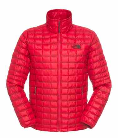 TNF Mens Thermoball Full Zip Jacket _ TNF Red