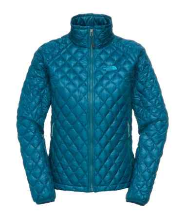 TNF Womens Thermoball Full Zip Jacket _ Prussian Blue