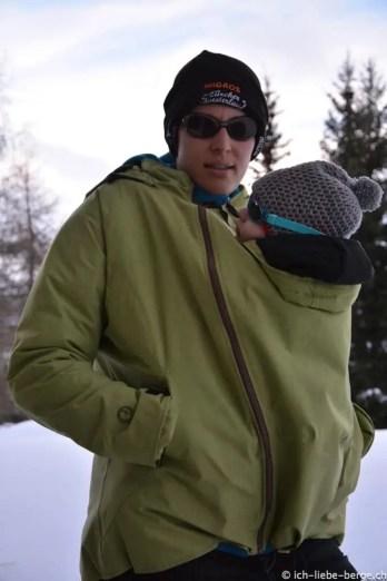 Mamalila Winterjacke für zwei 1