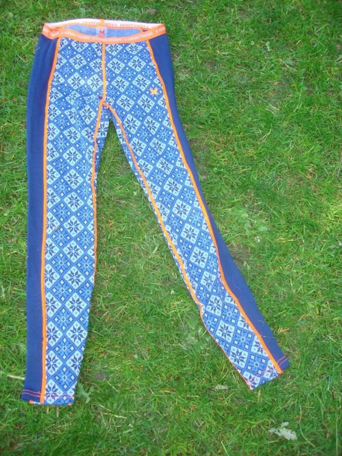 Merinounterwäsche Kari Traa Rose blau Pant und Roundneck7