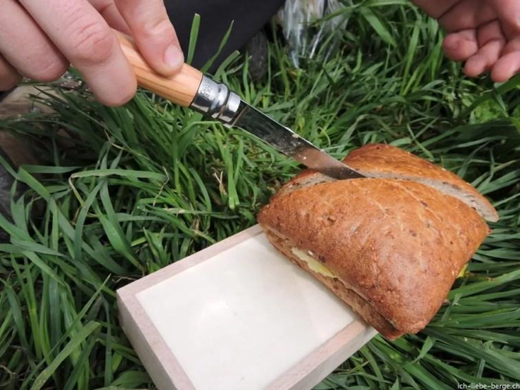 Opinel Slim knife N°10 olive wood 6