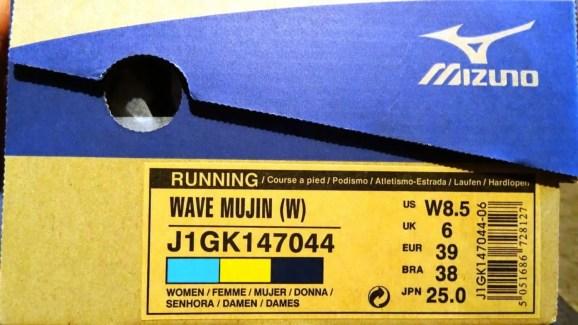 Mizuno Wave Mujin 9