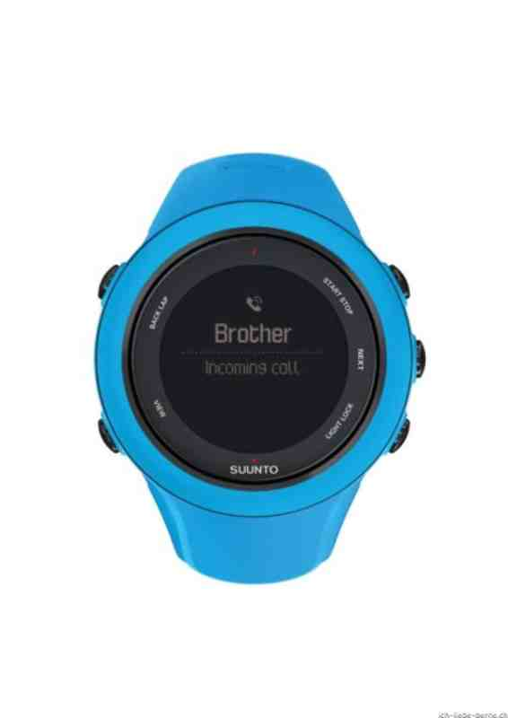 Ambit3 Sport BLUE - Incomming Call
