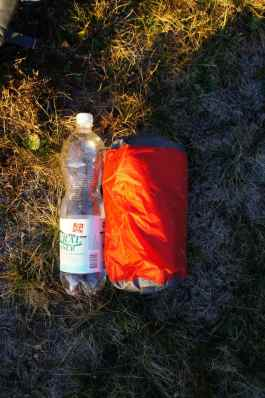 Packmass im Vergleich zu 1.5L Flasche