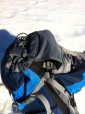 Höhenerstellung der Deckeltasche, Schutzmaterial, vermeidet, dass die Deckeltasche klemmt beim Hochklappen
