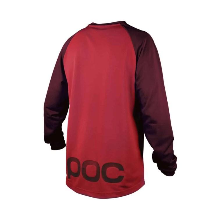 POC Flow Jersey Solder Red-Pewter Red_Back17