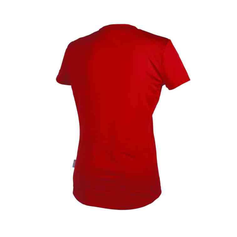 POC Trail Light Zip WO Tee Pewter Red_Back8