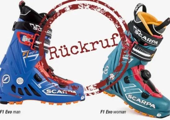 Rueckruf_SCARPA_F1_EVO