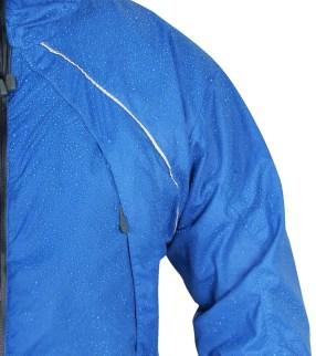 Water beading on jacket
