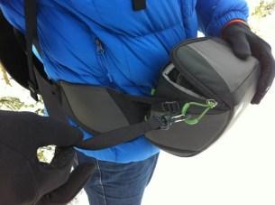 Sicherheitsband Gürteltasche-Rucksack