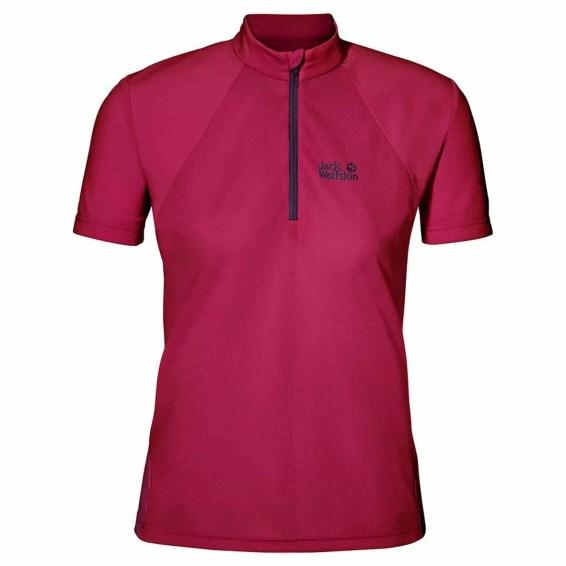 Jack_Wolfskin_Denali_Half_Zip_T-Shirt_W_Azalea_Red_1803531-2081