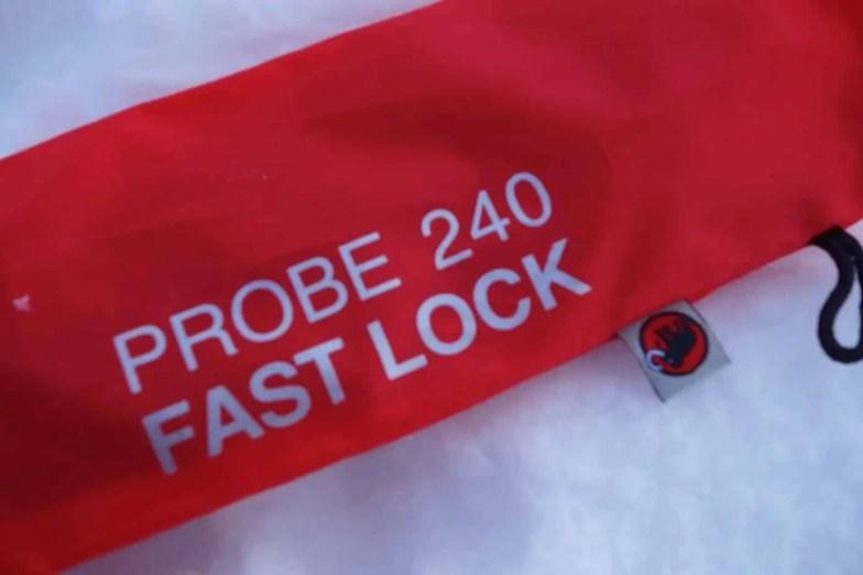 Mammut Probe 240 Fast Lock 19