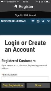 Nielsen-Kellerman Kestrel Drop 11