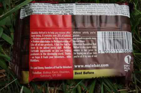 Test MuleBar Energy Bar 4
