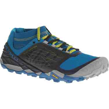 Merrell Ms AllOut Terra Trail blue 125 EUR