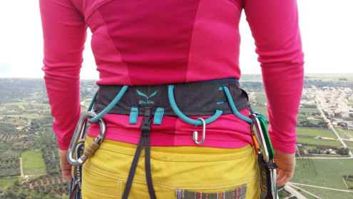 Test Klettergurt Salewa Rock W Harness6