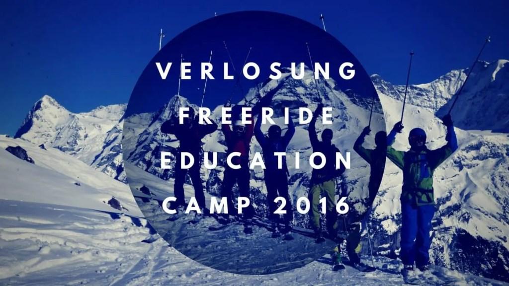 VERLOSUNGFreeride Education Camp