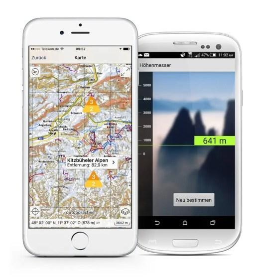 Ortovox Bergtouren App OVX_TourenApp_Lawinenwarnstufe_Höhenmesser6