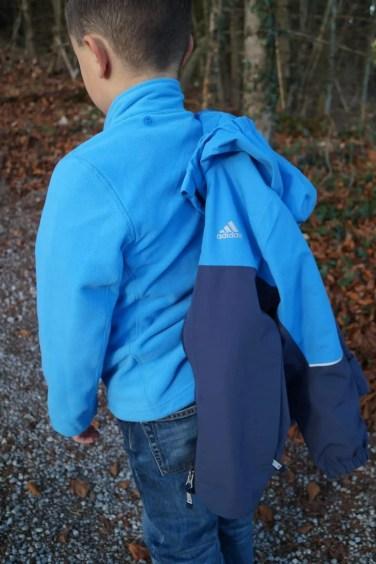 adidas Boys CP 3in1 Fleece Jacket (23)