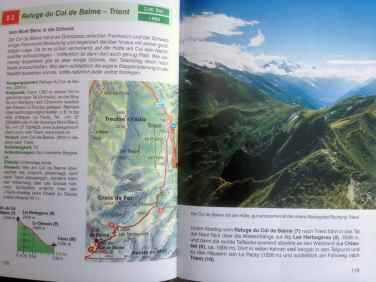 Rother Wanderführer, Haute Route, Wanderroute, Etappe 2.3