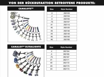 Rueckruf Black Diamond Klettersteigsets Camalot und Steigklemme 2