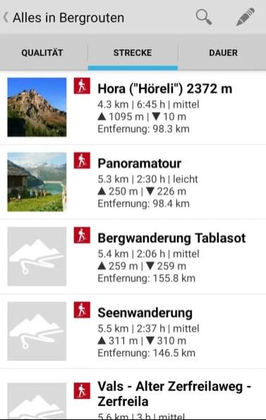 Wandern in der Schweiz 4
