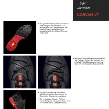 Arcteryx Norvan VT Trailrunning Schuhe 2017 Tech_Sheet 2