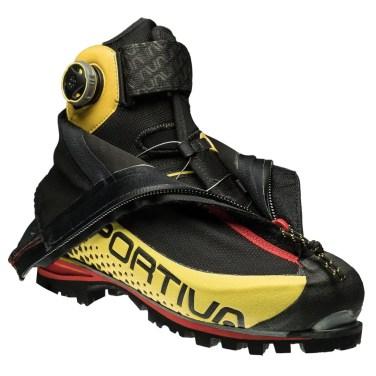 La Sportiva_G5 black-yellow open