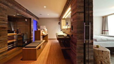 Badezimmer der WEllness Suite