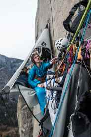 Adam Ondra on the Dawn Wall, at Basecamp (Pitch 14) and working on Pitch 14