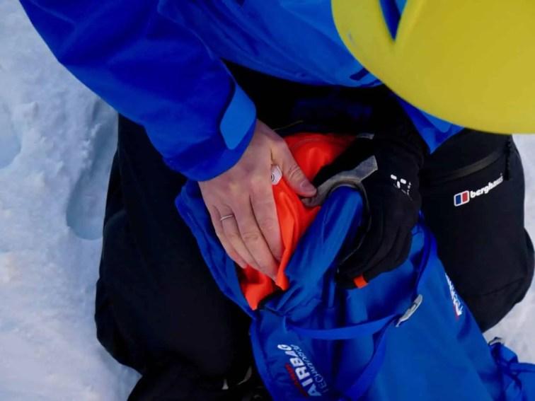 Test Mammut Ultralight Removable Airbag 3.0 35