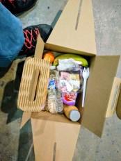 Lunch-Box für hungrige Teilnehmer