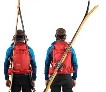 Skitragsystem