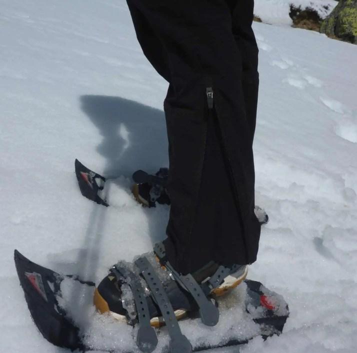 für Skischuhe ok