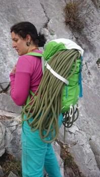 Seil lässt sich super aufbinden