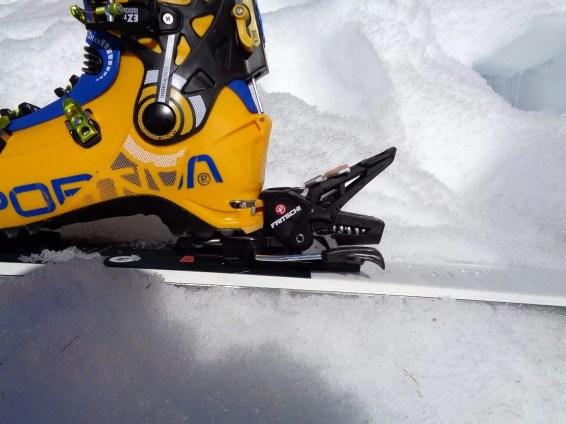 Ski-Modus hinten