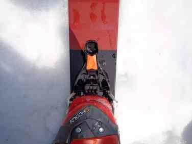 Einstellung Ski-Modus vorne