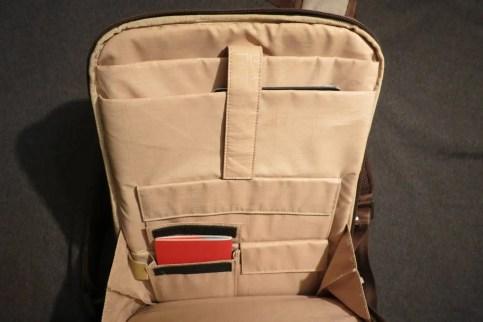 Rückenfächer für Laptop und Tablet