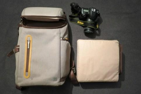 Moshi Arcus Multifunktionsrucksack mit Kameraeinsatz