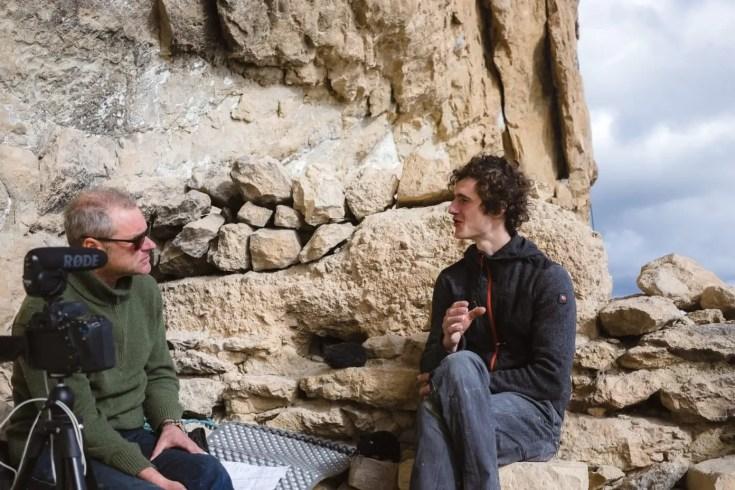 Making-of: Interview mit Adam Ondra