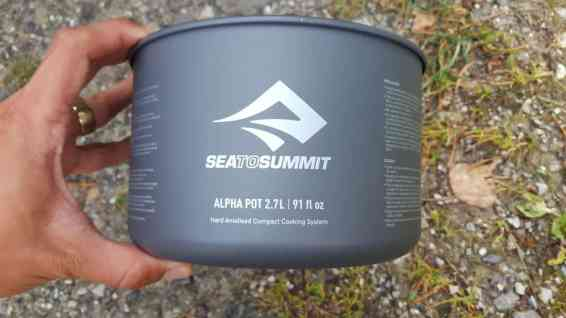 Sea to Summit Alpha Set 2.2 8