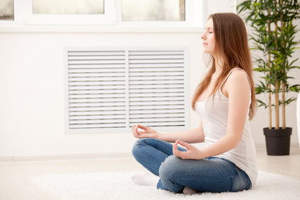 Für die erste Meditationbenötigen Sie nichts - außer sich selbst und ein wenig Ungestörtheit.
