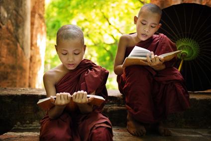 Buddhismus ist wie hier in Myanmar in vielen Ländern die dominierende Religion.