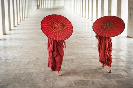 Laos ist ein mehrheitlich buddhistisches Land, was man überall sieht.