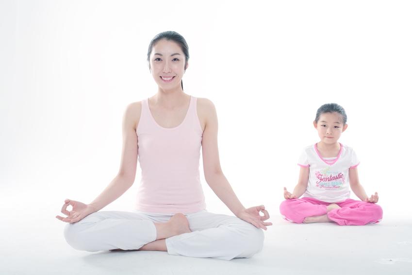 In manchen asiatischen Ländern werden Kinder recht früh an Meditation herangeführt.